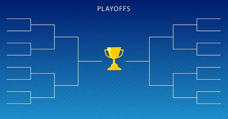 Graphic of blank draw for cup competition